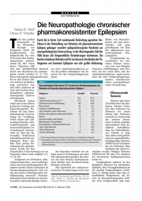 Die Neuropathologie chronischer...